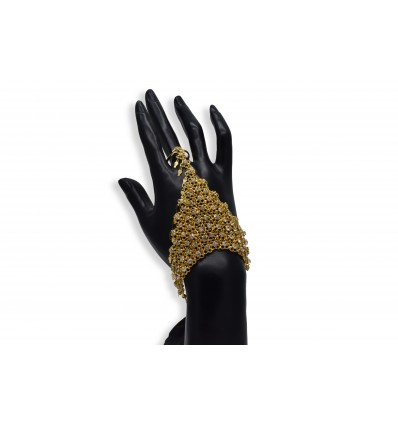 Gold Plated Finger Set