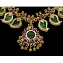Indian Traditional Green Mango Necklace