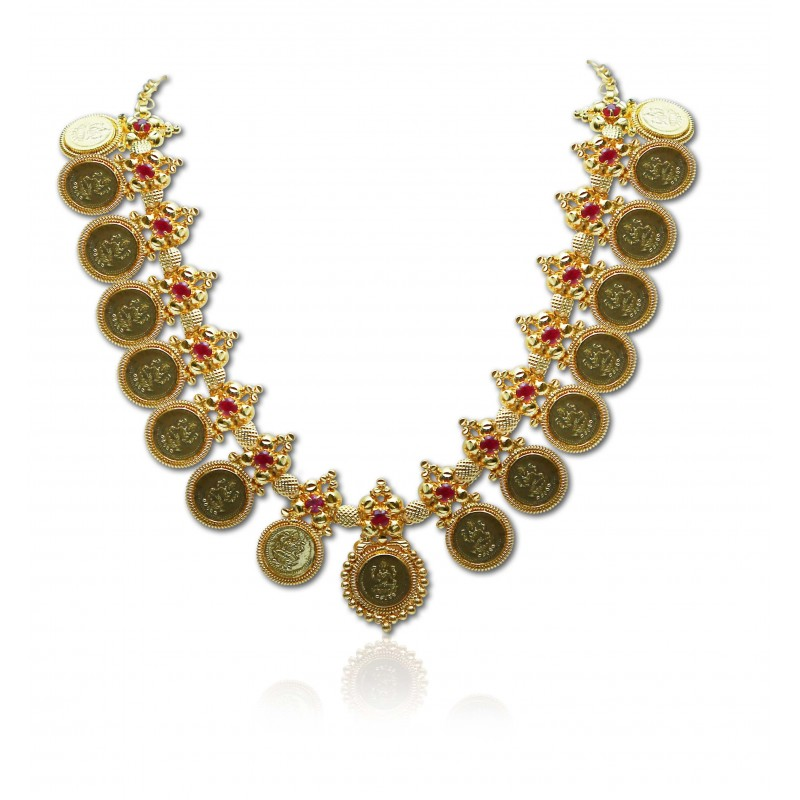 Necklaces - Gold Plated - Kollam Supreme Premium Fashion Jewellery