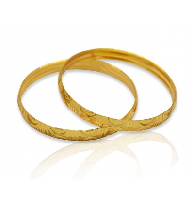 Micro Gold Plated Baby Bangles