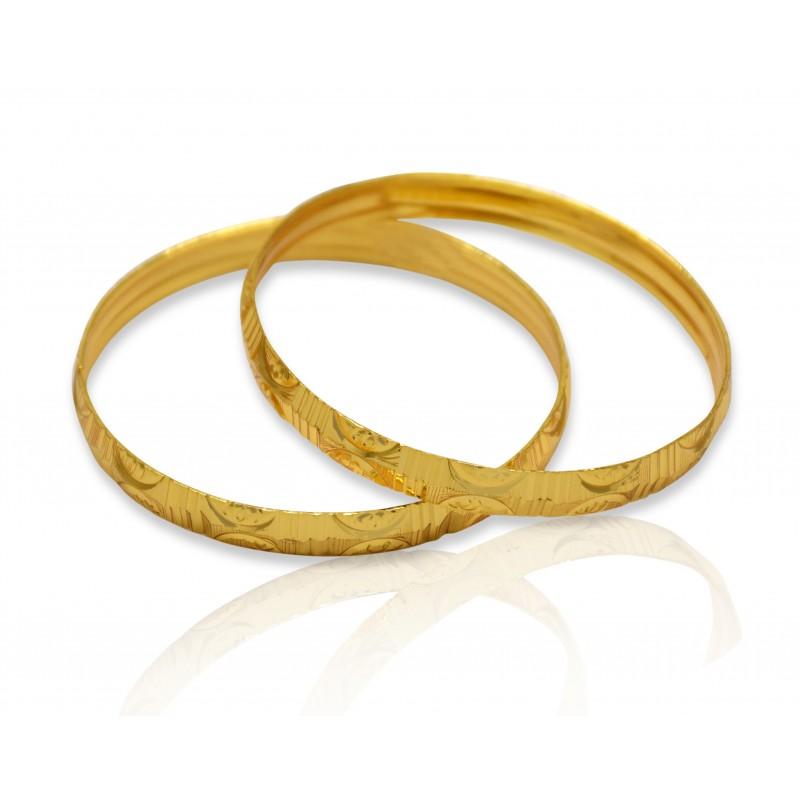 Buy Micro Gold Plated Baby Bangles Online Kollam Supreme