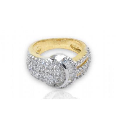 Stunning American Diamond Ring
