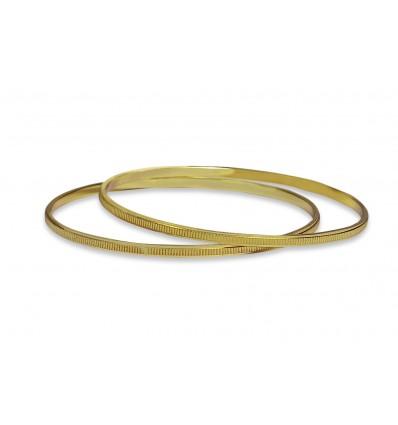 Gold plated Designer MC Bangles