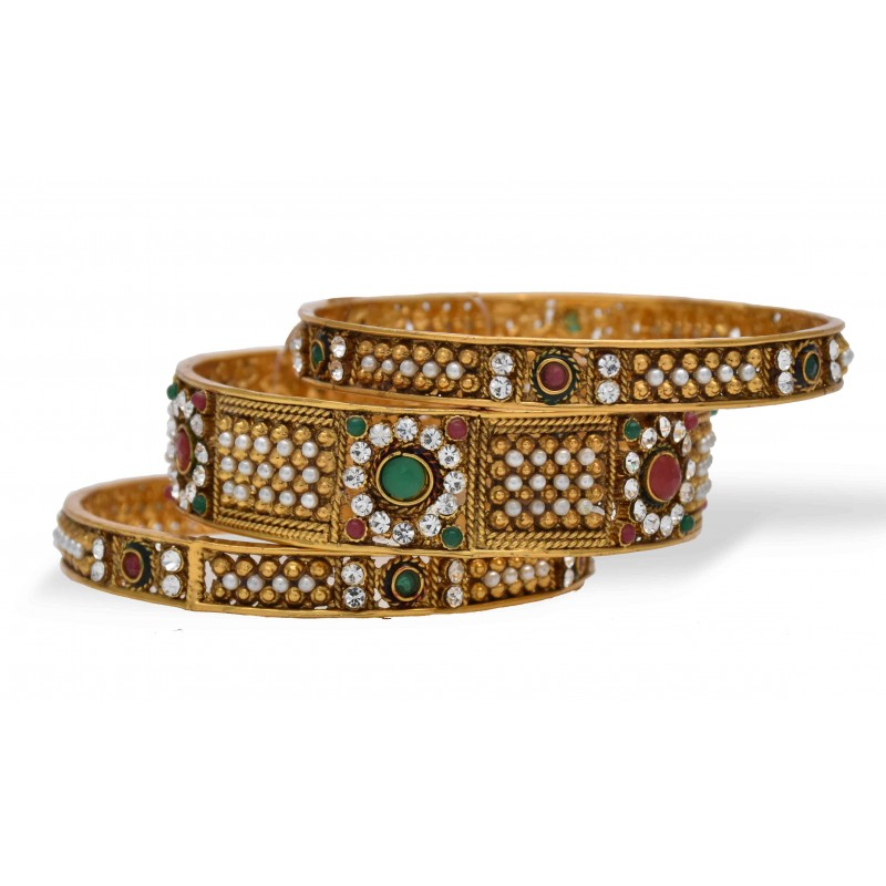 earring img bangles color party products set bangle wear yaalz metal thread jumka silk maroon in