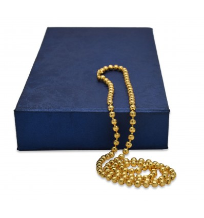 Gold Plated Simple MC Ball Chain