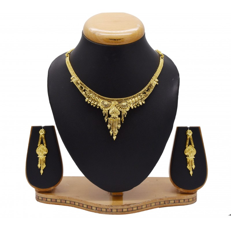 for goldplated necklace temple online jewellery neckace set sukkhi sets shimmering wdgrn buy plated collections women gold necklaces