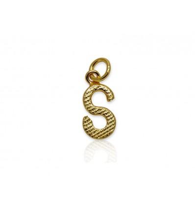Gold Plated Little Alphabet Pendant
