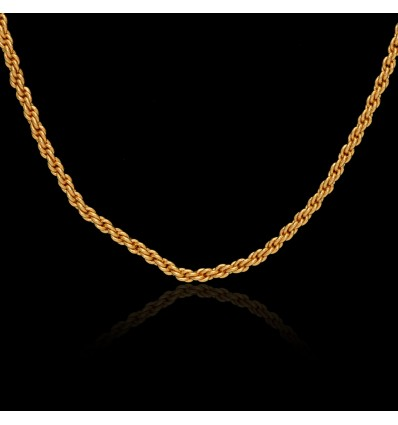 Micro Gold Plated Anjali Chain