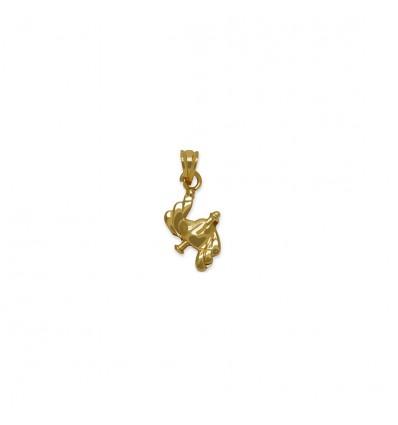 Micro Gold Plated Designer Heart Pendant