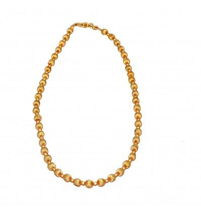 Gold Plated Adjustable MC Ball Custom Chain