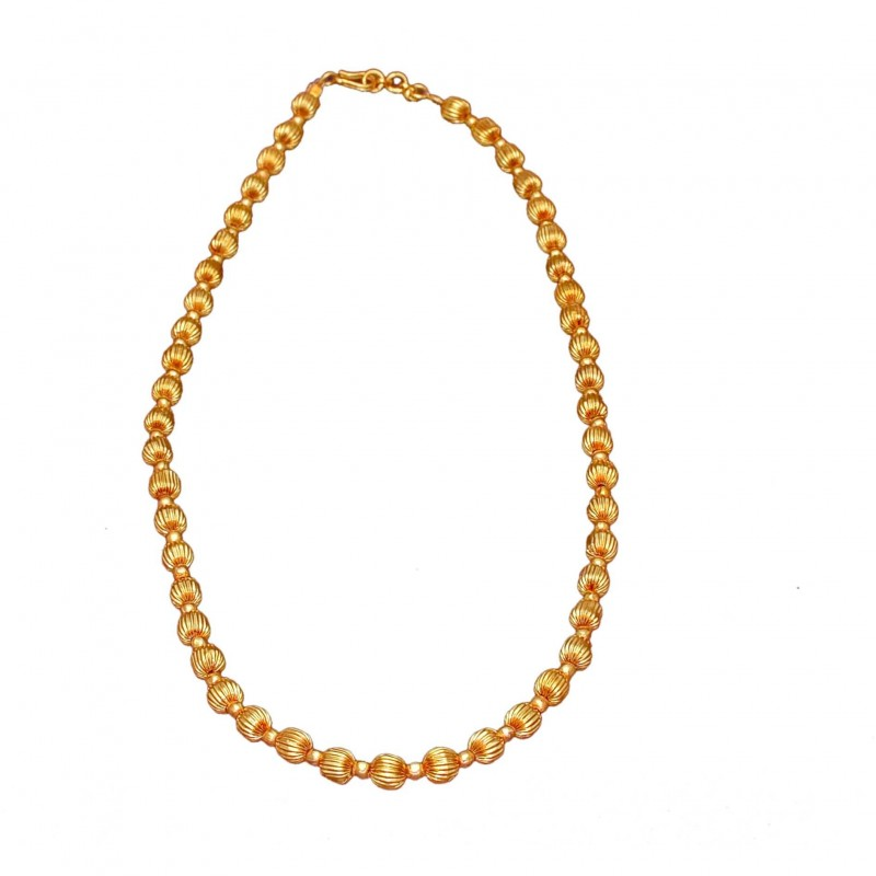 Buy Gold Plated Adjustable Mc Ball Custom Chain Online