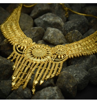 Traditional Gold Plated Necklace