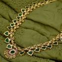 Kerala Traditinal One Gram Green Palakka Long Chain