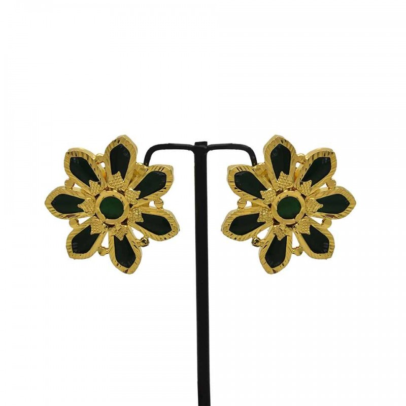 nordstrom c for flower stud big earrings women