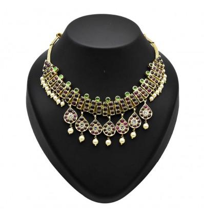 Traditional Original Temple Jewellery Dance Necklace