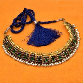 Original Temple Poothali Necklace For Dance