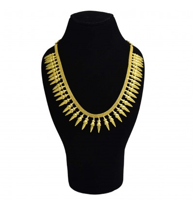 Traditional Gold Plated Pichimottu (Jasmine) necklace