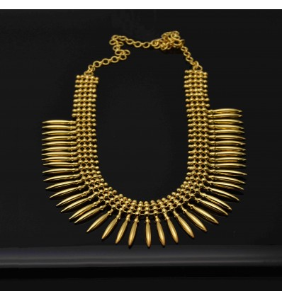 Traditional Gold Plated Pichimottu/Jasmine Buds Necklace