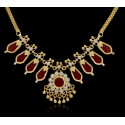Kerala Traditional Simple Nagapadam Necklace