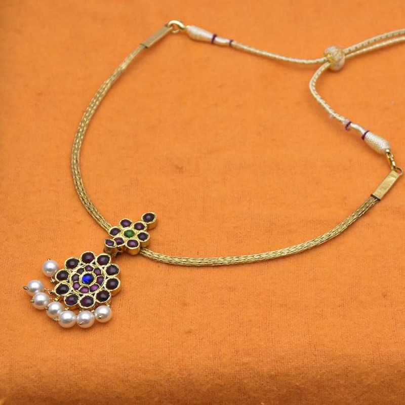 Simple adial real temple jewellery necklace buy onlinekollam supreme original temple adial necklace aloadofball Choice Image