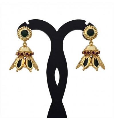 buy kerala traditional nagapadam jhumka earrings online